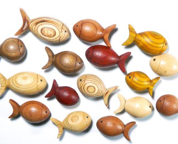 Kleine Fische, große Wirkung – Fischmagnete drechseln