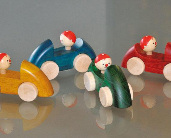 Heiße Flitzer – Spielzeugautos drechseln