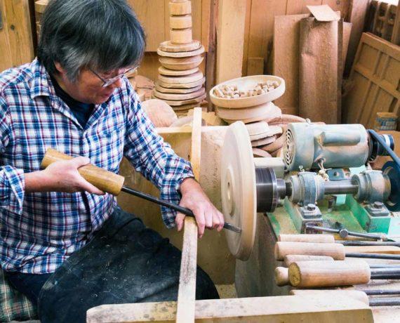 Drechseln in Japan – Ein lebendiges Handwerk