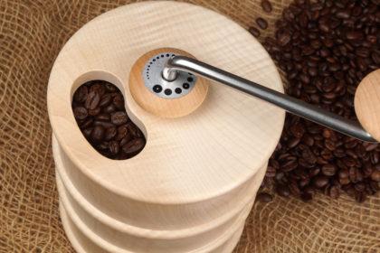Kaffeemühle drechseln