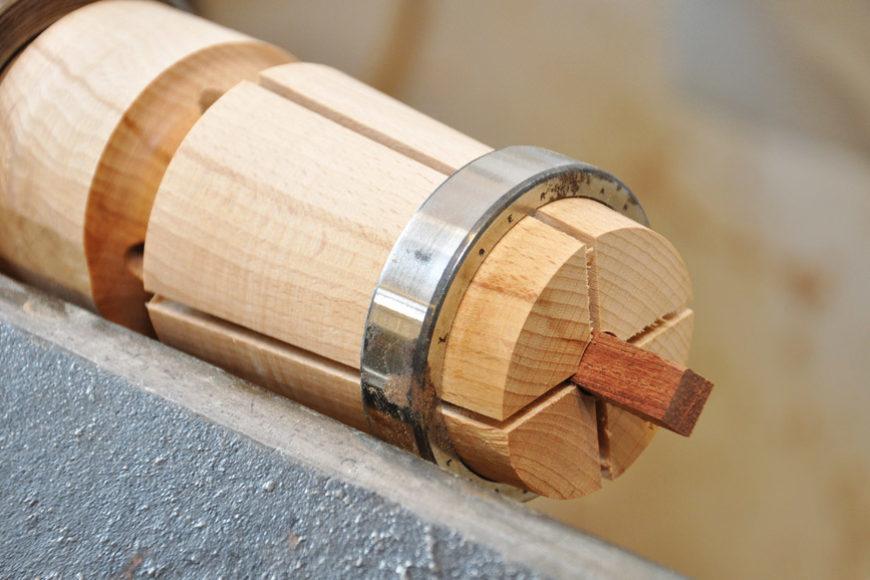 Klemmfutter aus Holz drechseln