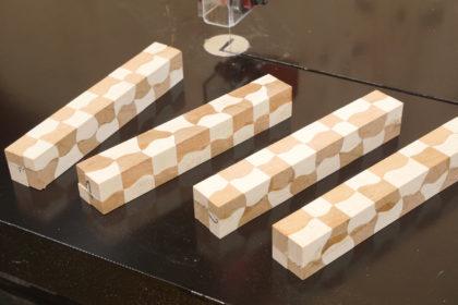 Fein geschnittene Segmentverleimung – Die Feinschnitt-Bandsäge in der Drechselwerkstatt