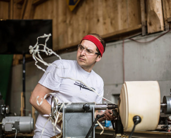 Stefan Behr – Woodturning is not a crime