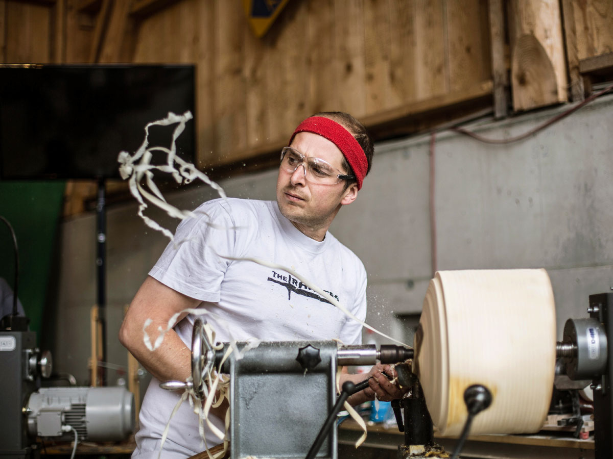 Stefan Behr | Woodturning is not a crime